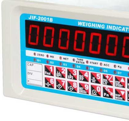 Jif 2001b Indicator Amp Controller Timbangan Digital